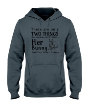 Bunny Two Things Can't Resist Hooded Sweatshirt thumbnail