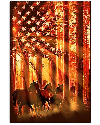 Horse Flag Poster