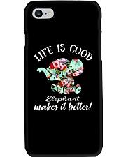 Life Is Good Elephant Makes It Better Phone Case thumbnail