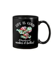 Life Is Good Elephant Makes It Better Mug thumbnail