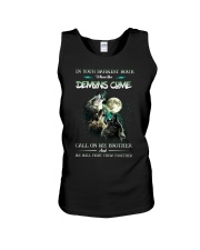 Wolf In Your Darknest Hour Unisex Tank thumbnail