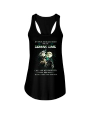 Wolf In Your Darknest Hour Ladies Flowy Tank thumbnail