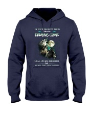 Wolf In Your Darknest Hour Hooded Sweatshirt thumbnail