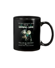 Wolf In Your Darknest Hour Mug thumbnail