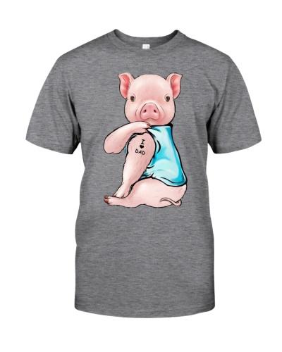 Pig I Love Dad