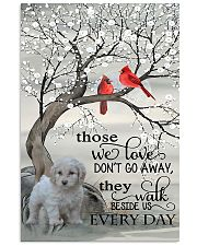 white-cockapoo every day-sp 11x17 Poster front