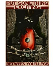 Exciting biker girl dvhd-ntv 16x24 Poster front