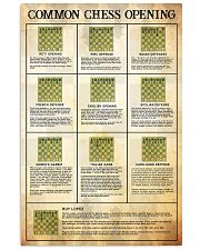 Chess opening dvhd-NTH 24x36 Poster front