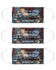 Dungaree mas baking  Cloth Face Mask - 3 Pack front