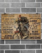 today biker dvhd pml 17x11 Poster poster-landscape-17x11-lifestyle-18