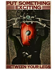 Exciting biker girl dvhd-ntv 16x24 Poster front