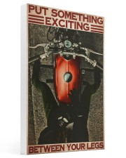 Exciting biker girl dvhd-ntv 16x24 Gallery Wrapped Canvas Prints thumbnail