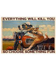 choose fun bike 24x16 Poster front