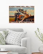 choose fun bike 24x16 Poster poster-landscape-24x16-lifestyle-01