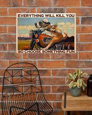 choose fun bike 24x16 Poster poster-landscape-24x16-lifestyle-24