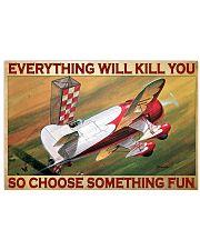 Choose fun air race bg dvhd-pml 17x11 Poster front