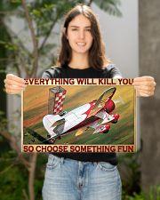Choose fun air race bg dvhd-pml 17x11 Poster poster-landscape-17x11-lifestyle-19