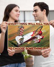 Choose fun air race bg dvhd-pml 17x11 Poster poster-landscape-17x11-lifestyle-20