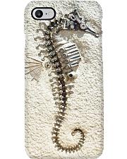 Steampunk seahorse fossil pc ttb-nna Phone Case i-phone-8-case