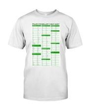 Italian Vocabulary Cheat Sheet pt lqt-pml Classic T-Shirt tile