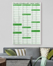 Italian Vocabulary Cheat Sheet pt lqt-pml 24x36 Gallery Wrapped Canvas Prints aos-canvas-pgw-24x36-lifestyle-front-16