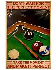 billiard perfect dvhd NTH 11x17 Poster front