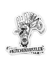 Sticker Hustler Kitchen Sticker - 6 pack (Vertical) front