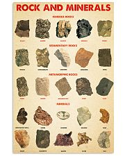 Rocks minerals dvhd-ngt 16x24 Poster front