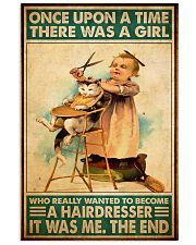 Once upon hairdresser 24x36 Poster front