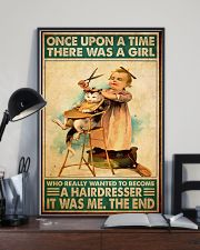 Once upon hairdresser 24x36 Poster lifestyle-poster-2