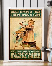 Once upon hairdresser 24x36 Poster lifestyle-poster-4