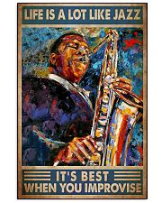Jazz life dvhd 11x17 Poster front