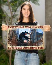 choose fun parkour  17x11 Poster poster-landscape-17x11-lifestyle-19