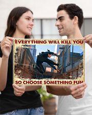 choose fun parkour  17x11 Poster poster-landscape-17x11-lifestyle-20