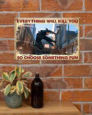 choose fun parkour  17x11 Poster poster-landscape-17x11-lifestyle-23