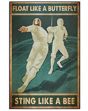 Fencing float sting dvhd NTV 11x17 Poster front