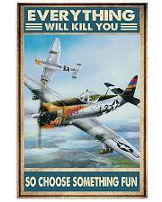 Air race choosefun dvhd ngt 11x17 Poster front