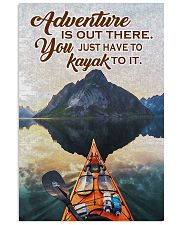 Kayak adventure dvhd-cva 11x17 Poster front