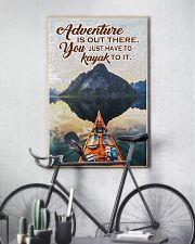 Kayak adventure dvhd-cva 11x17 Poster lifestyle-poster-7