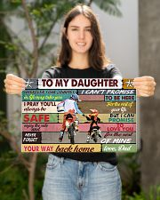 To my daughter motorcycle dvhd-nna 17x11 Poster poster-landscape-17x11-lifestyle-19