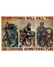 Motocycles choose fun dvhd-ntv 17x11 Poster front