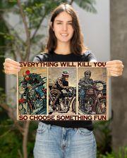 Motocycles choose fun dvhd-ntv 17x11 Poster poster-landscape-17x11-lifestyle-19
