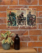 Motocycles choose fun dvhd-ntv 17x11 Poster poster-landscape-17x11-lifestyle-23