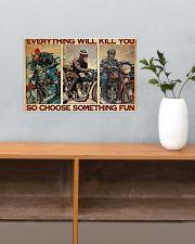 Motocycles choose fun dvhd-ntv 17x11 Poster poster-landscape-17x11-lifestyle-24