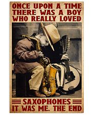 Sax once upon dvhd-NTH 16x24 Poster front