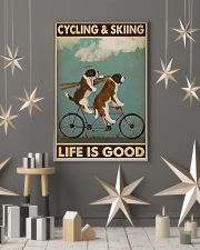 Cycling And Skiing PDN-ntv 11x17 Poster lifestyle-holiday-poster-1