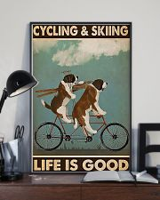 Cycling And Skiing PDN-ntv 11x17 Poster lifestyle-poster-2