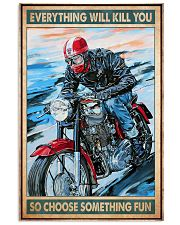 Choose fun caferacer dvhd 11x17 Poster front