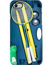Badminton racket box case dvhh pml Phone Case i-phone-8-case