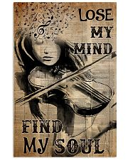 Lose mind violin dvhd-NTH 16x24 Poster front